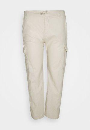LASSO - Cargo trousers - fog