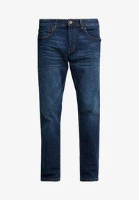 Esprit - Jeansy Straight Leg - blue dark wash - 4
