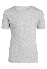 Next - THREE PACK - T-shirt basic - white - 3