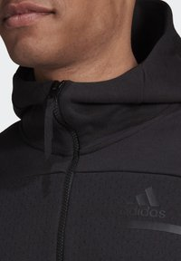 adidas Performance - Z.N.E HOODIE PRIMEGREEN HOODED TRACK TOP - Bluza z kapturem - black - 4