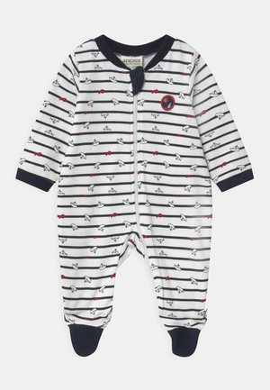 OCEAN CHILD - Sleep suit - dark blue/white