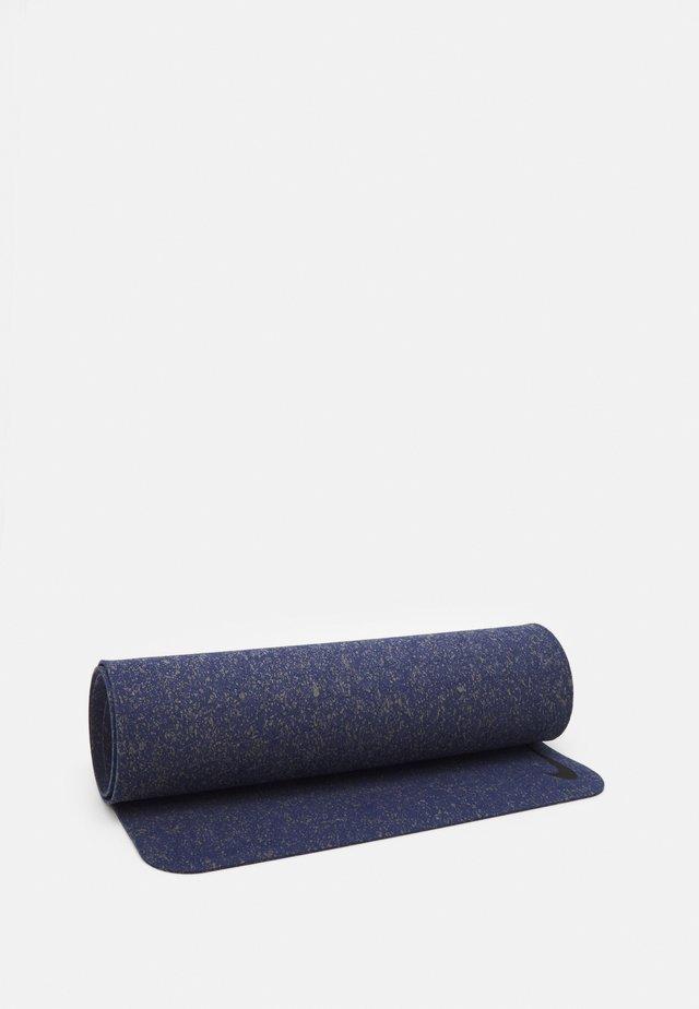FLOW MAT 4 MM UNISEX - Fitness / Yoga - midnight navy