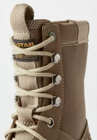 G-Star - TENDRIC - Lace-up boots - light brown - 4