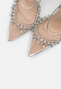 BEBO - RASSEL - High heels - clear/silver - 5
