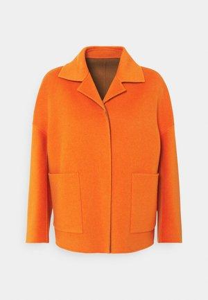 SELVA - Short coat - orange