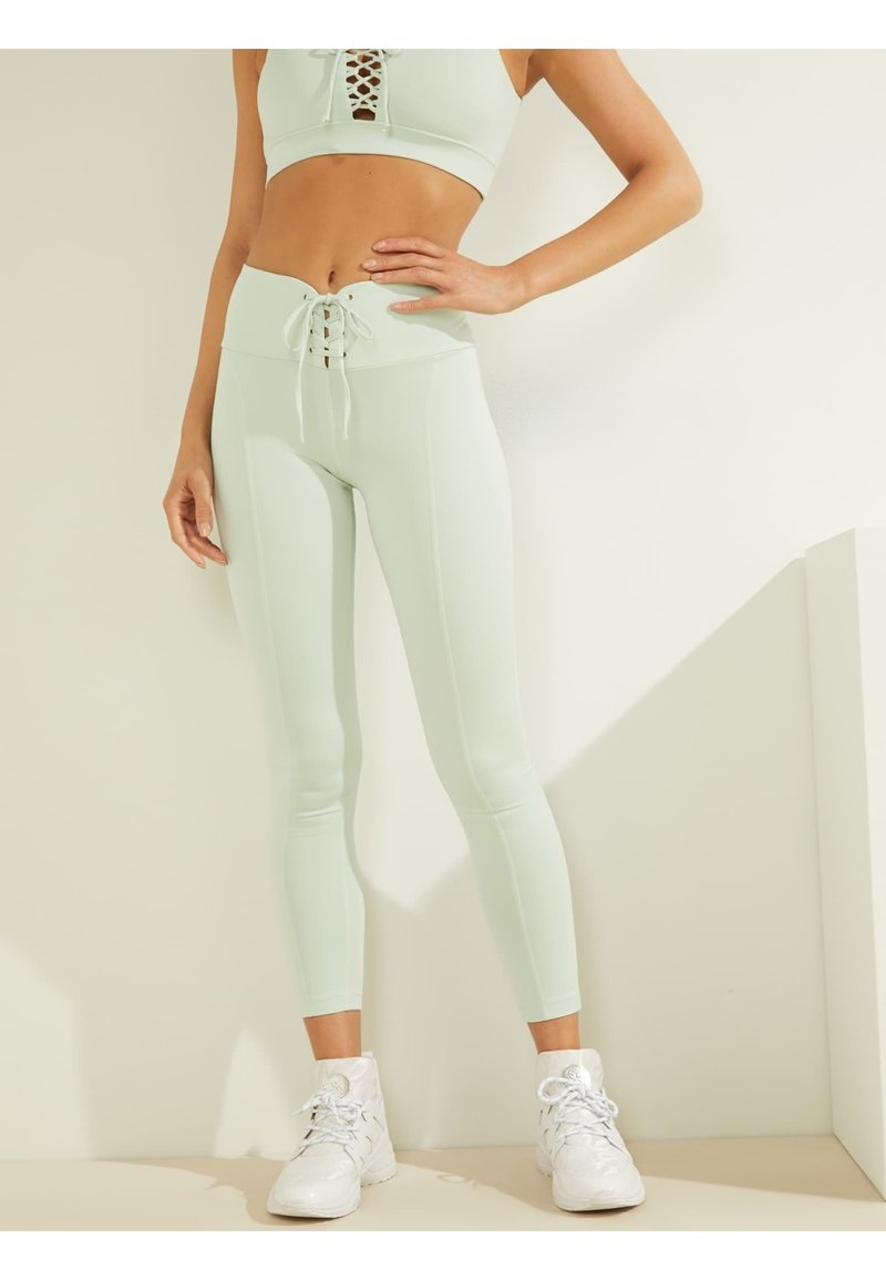 Guess - LEGGINGS - Leggings - himmelblau