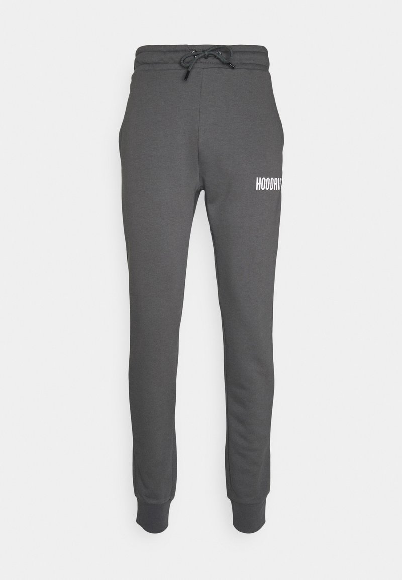 Hoodrich - CORE JOGGERS - Tracksuit bottoms - shadow/white