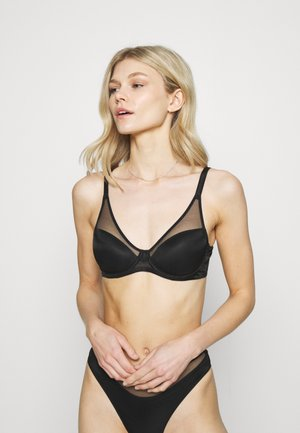 LUCKY PADDED BRA - Underwired bra - black