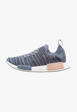 NMD_R1 STLT PK - Matalavartiset tennarit - raw steel/ash pearl/footwear white