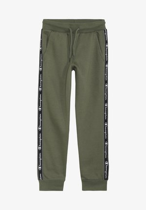 AMERICAN CLASSICS PIPING CUFF PANTS - Verryttelyhousut - khaki