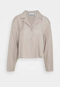 FILIPPA BLOUSE - Button-down blouse - grey