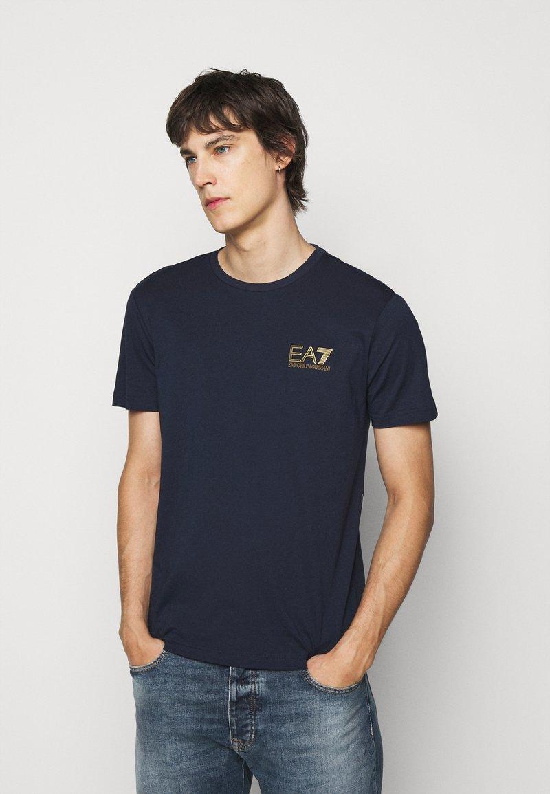 EA7 Emporio Armani - Print T-shirt - dark blue
