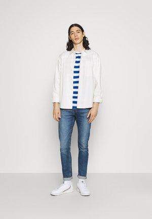 BOLD HORIZONTAL STRIPE 2 PACK - Print T-shirt - grey marl/mid blue