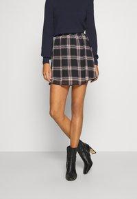 JDY - JDYJOLINE SKIRT  - A-snit nederdel/ A-formede nederdele - black/multicolor - 0