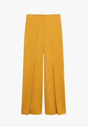 Kalhoty - moutarde