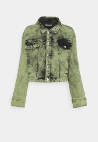 BLANCHE - AVIDA JACKET - Denim jacket - green - 0