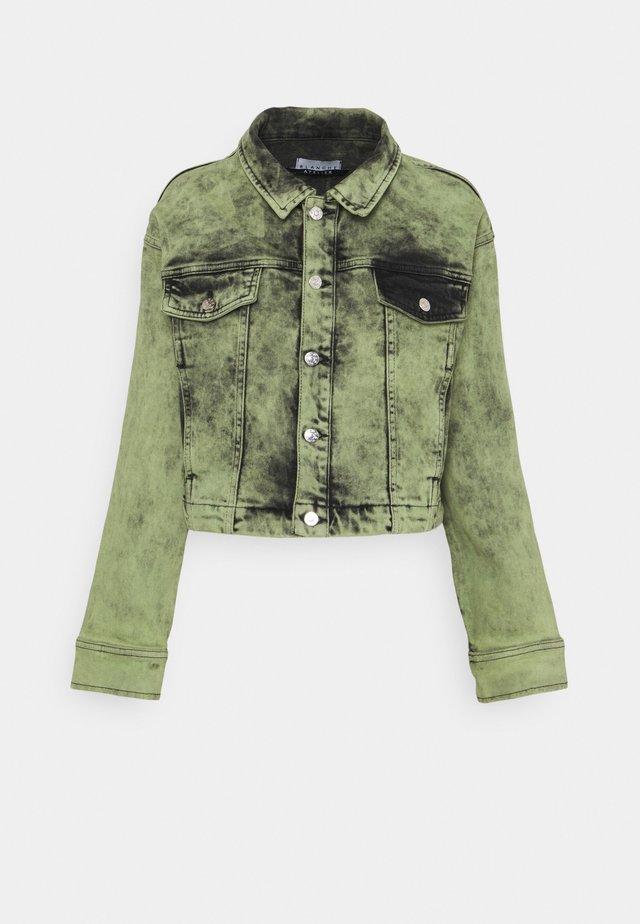 AVIDA JACKET - Veste en jean - green
