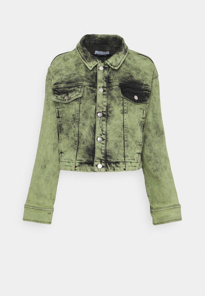 BLANCHE - AVIDA JACKET - Denim jacket - green