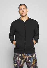 Pier One - Zip-up hoodie - black - 0