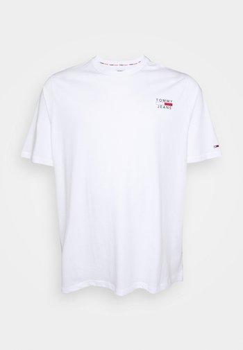 CHEST LOGO TEE - Basic T-shirt - white