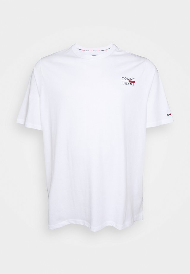 CHEST LOGO TEE - T-shirts - white