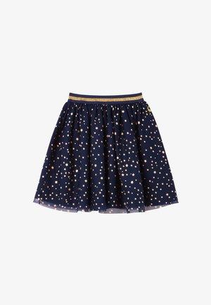 NOLA - A-line skirt - blaues juwel