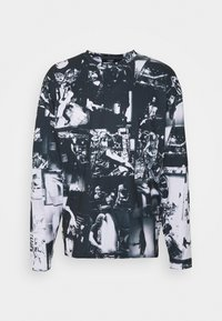 Jaded London - INVERTED PUNK ROCK COLLAGE TEE - Long sleeved top - black - 3