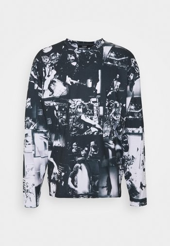 INVERTED PUNK ROCK COLLAGE TEE