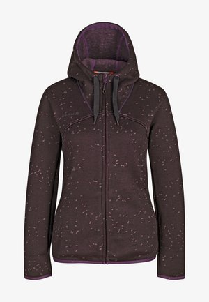 CHAMUERA - Fleece jacket - blackberry