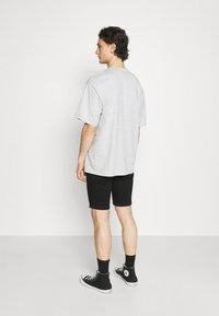 Hollister Co. - CLEAN  - Denim shorts - black - 2