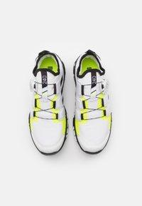 adidas Performance - TERREX AGRAVIC BOA RUNNING - Scarpe da trail running - footwear white/core black/solar yellow - 3
