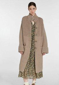 SET - Classic coat - taupe - 0