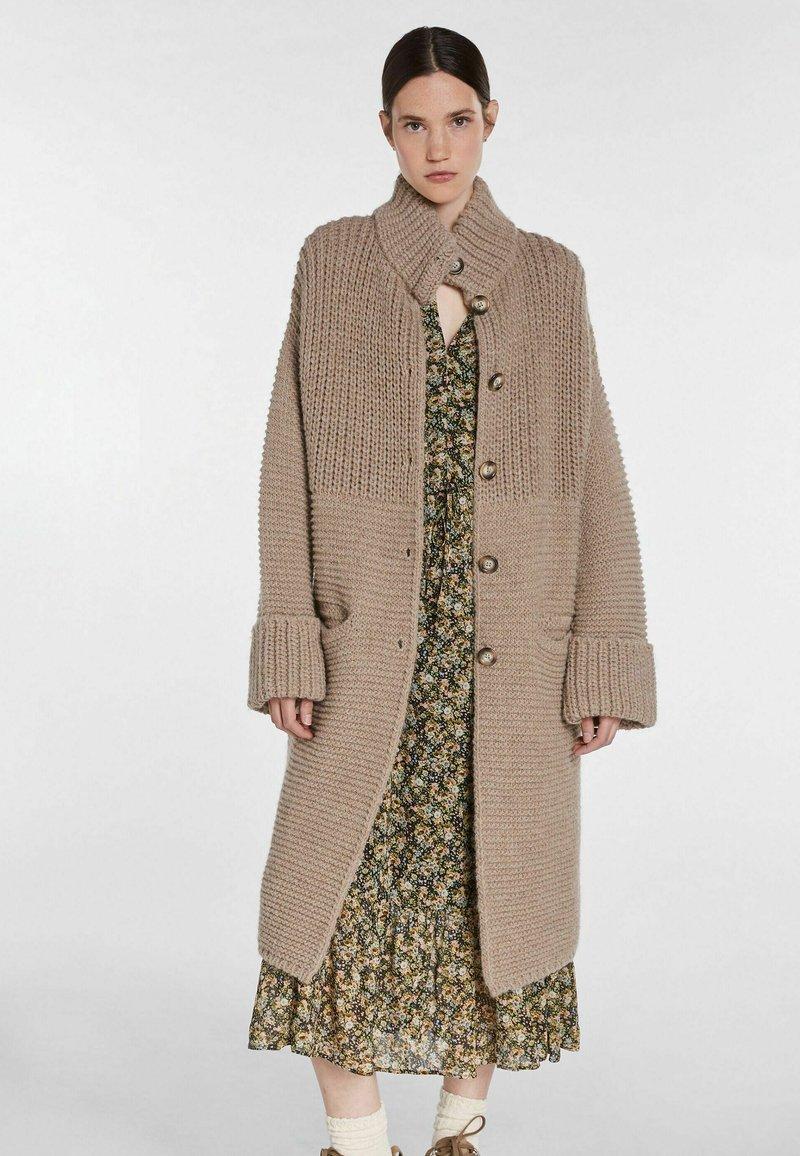 SET - Classic coat - taupe