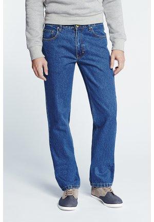 Straight leg jeans - stone wash