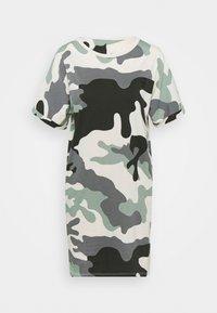 G-Star - JOOSA DRESS R WMN S/S - Žerzejové šaty - green - 5