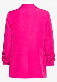 New Look - RUCHED BOYFRIEND - Blazer - bright pink - 1