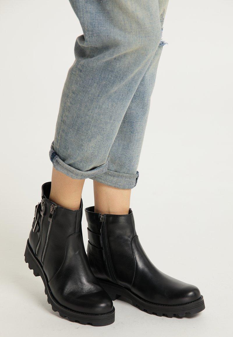 myMo ROCKS - Ankle boots - schwarz