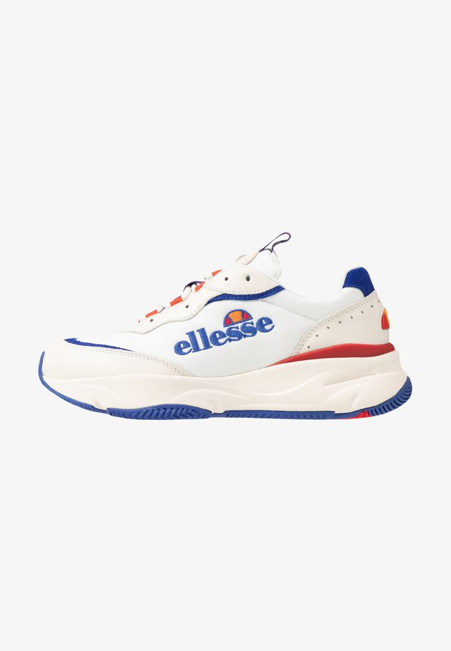 MASSELLO - Joggesko - offwhite/dark blue/red