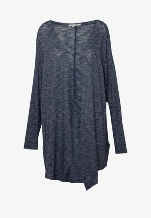 WATERFALL CARDIGAN - Cardigan - real navy blue melange