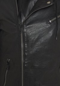 Freaky Nation - BE READY - Leather jacket - black - 8