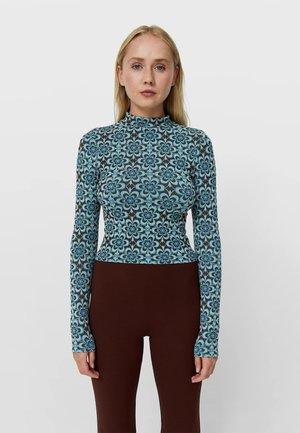 Långärmad tröja - brown