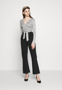 Missguided - BRUSHED WRAP - Jumper - grey - 1