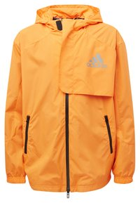 adidas Performance - Training jacket - app signal orange/black/silver met. - 6