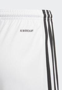 adidas Performance - SQUAD UNISEX - Krótkie spodenki sportowe - white - 1