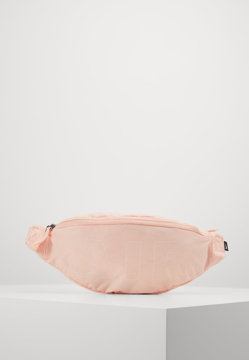 Nike Sportswear - HERITAGE HIP PACK - Bum bag - washed coral/white