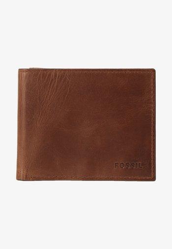 DERRICK RFID  - Käyntikorttikotelo - brown