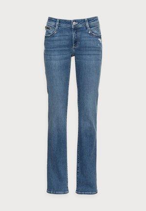 OLIVIA - Straight leg jeans - destroyed glam