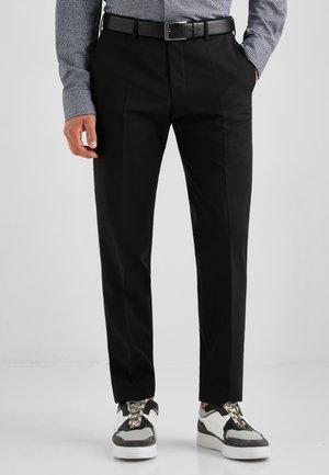 MASSA - Trousers - schwarz