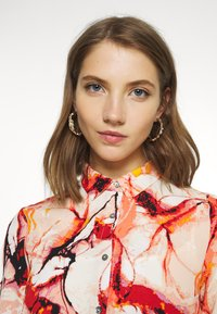 ONLY - ONLALMA LIFE - Button-down blouse - cloud dancer/marble - 4