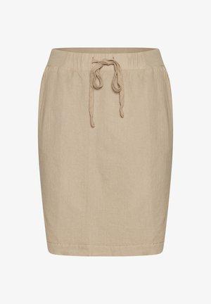 NAYA  - Pouzdrová sukně - classic sand